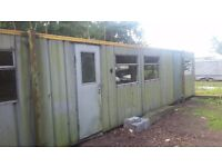 STORAGE / WORKSHOP UNIT AVAILABLE ON SECURE FARM 14m x 3m x 2.5m PARKING AND OUTSIDE STORAGE ALSO