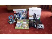 Xbox 360 +5 games and xtras.