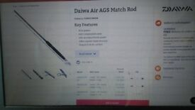 DAIWA AIR AGS 14FT MATCH ROD