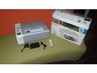 Hp photosmart c4280 colour/black and white printer copier scanmer ****nearly new ****