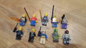 Lego 10 mixed minifigures