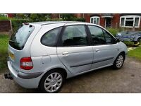 Renault Scenic Fiji 1.9 DCI 53 reg (accident damaged but easily repairable)