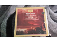 The great composers Richard Strauss vintage vinyl lp record
