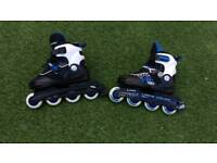 Avigo Inline Skates size adjustable 5-6 EUR 36-38 in good condition.