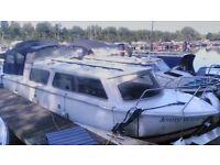 25ft Dawncraft cabin cruiser near London