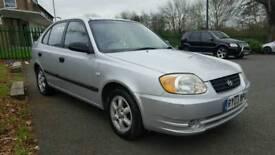 Hyundai accent 1.6 petrol 2003 long mot