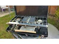 2 hob stove and grill