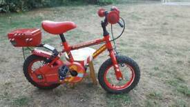Kids firechief rescue bike 9in frame suitable for the age of 2 to 5 years