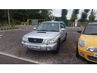 Subaru Forester Turbo S 2001 Auto Automatic AWD 4WD 7 months MOT