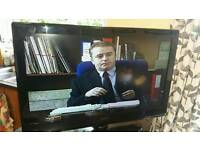 32 inch Technica television with usb and dvd 720 HD