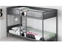 IKEA SOLID METAL BUNK BEDS