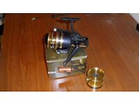 DAIWA BG60 SPINNING REEL (NEW, BOXED) WITH SPARE SPOOL