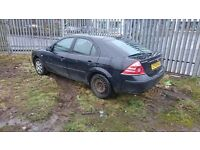 ford mondeo No MOT 1.8 petrol strart and drive