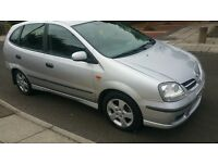 NISSAN ALMERA TINO DIESEL 04 REG, CHAIN DRIVEN ENGINE,EXCELLENT RUNNER CHEAP ON FUEL,QUICK SALE!!!!
