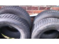 Pair of 215 r 15 Marshall Venture tyres suitable for 4x4 or van etc