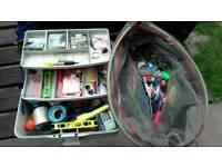 Joblot fishing gear