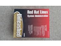 Set of 2 Red Hat Linux training books