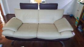 Sofa x 2 Leather
