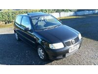 VW Polo MATCH 1.4 Petrol, 3 Door Hatch-Back, One Lady Owner From New!!!
