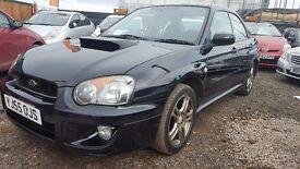 Subaru Impreza WRX BLACK Saloon Turbo