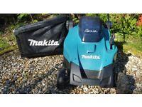 Cordless Battery Powered Lawnmower Makita DLM431Z