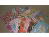 Selection of little girls novels