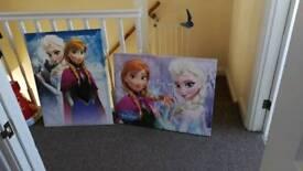 Frozen Canvas x 2