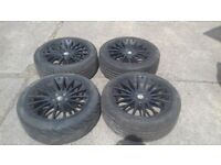 Alfa romeo 156 wheels and tyres