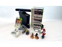 Xbox360 bundle infinity pack ,kinnect and games