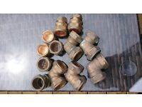 28mm COPPER COMPRESSION FITTINGS
