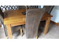 Harveys Toulouse Extending Dining Table