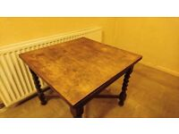 Wooden Dining Table (needs to go asap)
