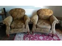 Pair of John Lewis Derwent armchairs