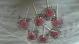 Wedding favour sweets... Heart shaped lollipop
