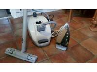 Karcher 1105 Vaporapid carpet steam cleaner & steam Iron.
