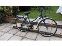 vintage ladies Orbea River town hybrid bike bicycle