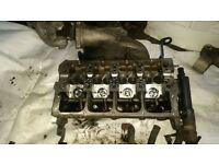 SKODA FABIA VRS CYLINDER HEAD WITH CAM SHAFT AND INJECTOR LOOMS