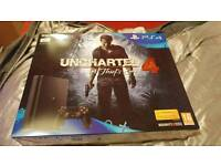 PlayStation 4 slim with uncharted 4