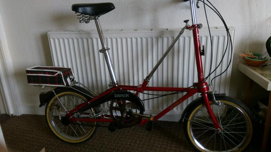 Classic Dahon 3 Folding Bike In Dennistoun Glasgow Gumtree