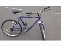 Rudge Whitworth folding mountain bike with city tyres