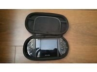 PS Vita with Wifi, Case and Game