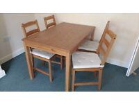 Dining Table Set - JOKKMOKK