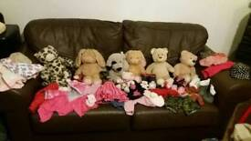 6 build a bears and accessories *BARGAIN*