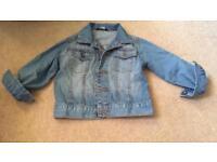 Girls denim jacket 18-24m