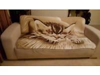 ***FREE*** pale Beige Sofa