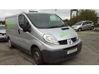 **FOR BREAKING** 2008 RENAULT TRAFFIC 2.0D (6 SPEED).