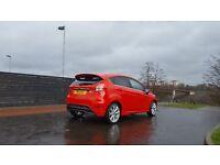 """Ford Fiesta Titanium Ecoboost 1.0L - 2013 5 Door. Body kit. 16"""" Alloys. MOT 03/18. £0 road tax."""
