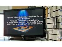 """Samsung 42""""plasma Fully working order with 3 month Warranty!!"""