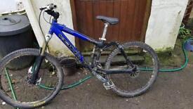 Kona Stinky Bike + Diamondback Hardtail frame