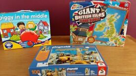 Children's game and jigsaws lot 3